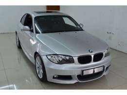 BMW 1 Series 125i coupe 6 speed in a very good condition.