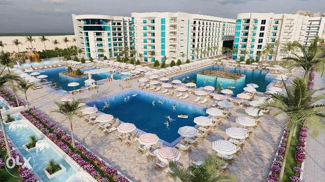 Sea View Private Beach apartment in luxury project Scandic Resort