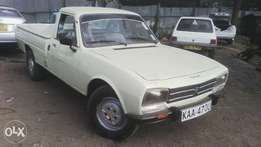 Peugeot 504 pickup, manual, six speed, accident free