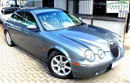 2004 Jaguar S-Type V8 4.2 (facelift)
