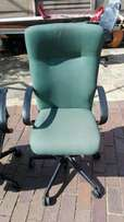 HIGH back gas-lift swivel chair top quality