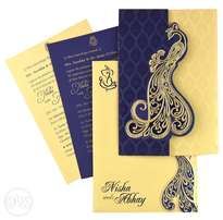 Wedding cards printing 150