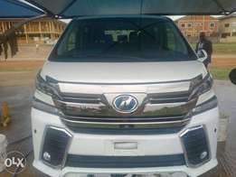 Toyota Vellfire 2014 model full option