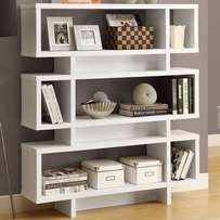 Get partitioned bookshelves in your favorite color