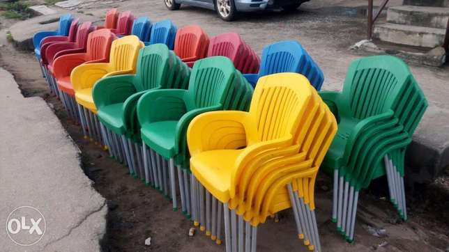 This is a brand new plastic restaurant chairs Lagos Mainland - image 1