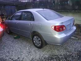 Accident free 2005 Toyota corolla LE for 2.050M