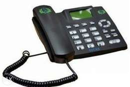 Tucas Dual SIM GSM Table Phone For Home And Office