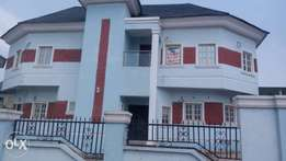 New 4 bedroom fully detached duplex for sale in kukwaba district