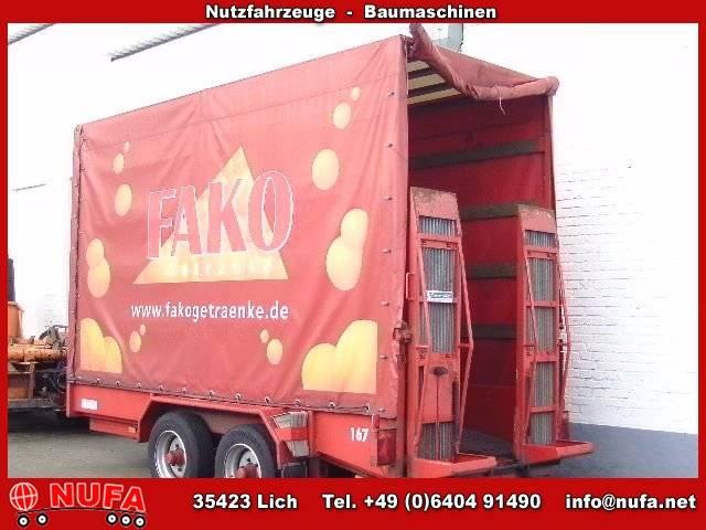 Blomenröhr AWST 6900 Tandem Pritsche Tieflader - 2008