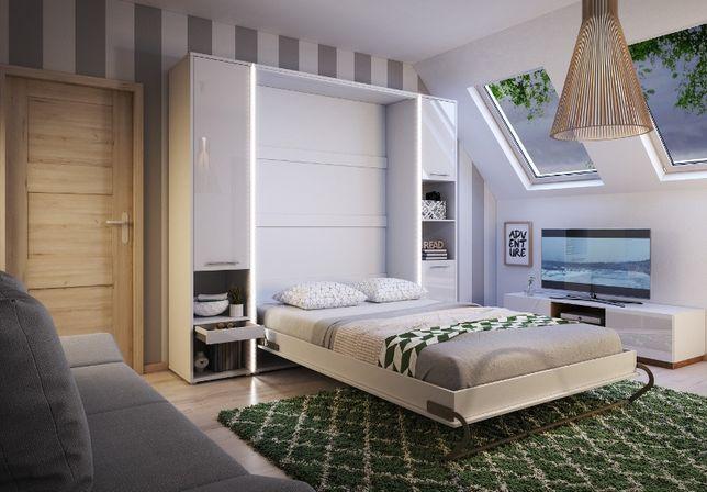 łóżka Zamykane Na ścianę łóżko Chowane W Szafie Półkotapczan