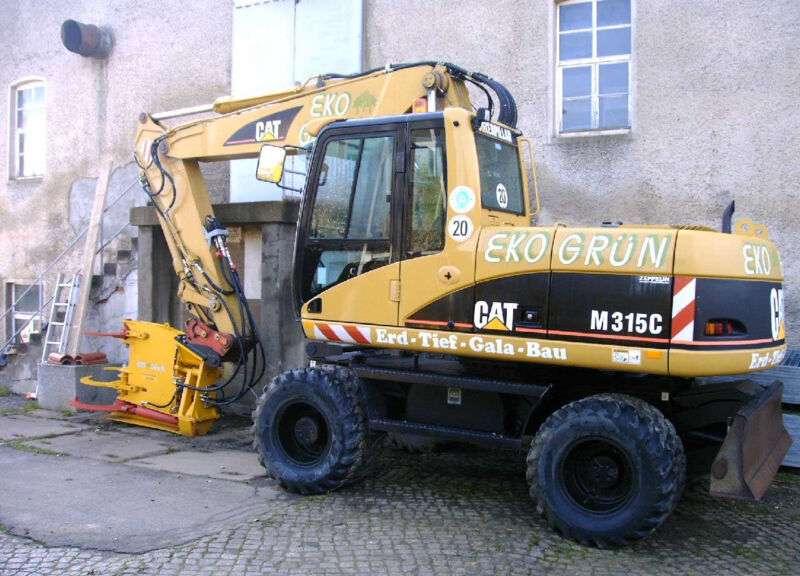 CAT 315 C mit NEUER Baumschere - 2003 - image 9