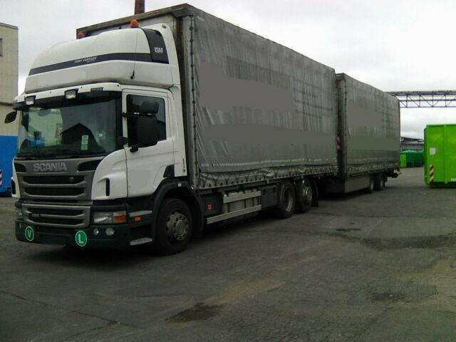 Scania G 440 automat retarder + Vako Anhänger BJ 2013 - 2013
