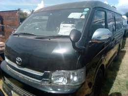 Toyota Hiace metallic black