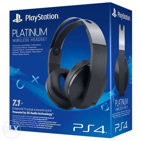 Sony Platinum / Gold headsets for Ps4