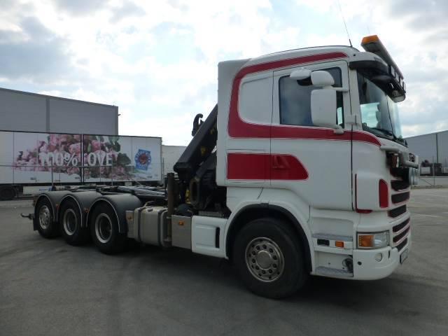 Scania R480 Tridem Kran/krok Pf 18002 - 2011