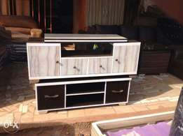 Set of tv unit