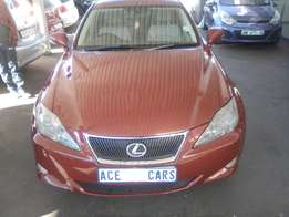 2009 Lexus 15 250 selling for R120000.