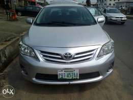 Super clean Nigerian used Toyota Corolla 2010 Model