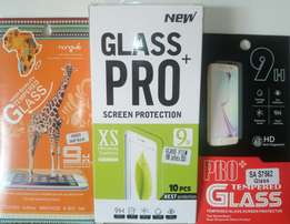 Tempered glass screen protectors for all phones