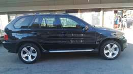 used bmw X5 3.0d 4x4 automatic with double sunroof for sale in jhb