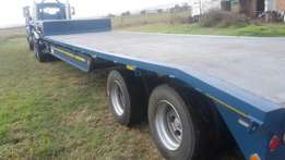 Lowbed 2 axle to swop