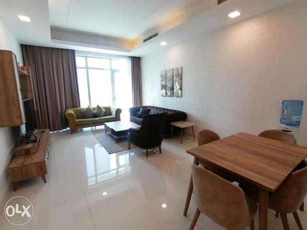 Modern 2 BR FF Apartment+Balcony in Juffair For Rent