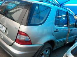 Mercedes-Benz ML270 stripping for spares