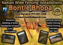 Electric and Game fence Professionals