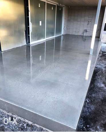 Concrete Floor Polishing & Grinding Works