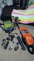 Nikon camera with a lot of accessories
