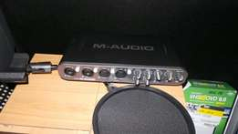 M-audio fast track ultra 8in 8out studio interface/ sound card