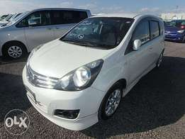 Nissan Note new arrival loaded with body kit