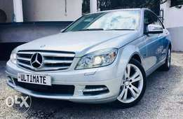 Mercedes Benz New Shape C200 Just Arrived Fully Loaded 2,400,000/=