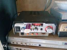 Kinter amplifier with usb
