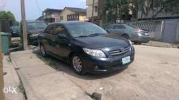 Registered 2008 Toyota Corolla (Black)