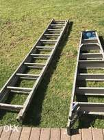 2xladders one exstension ladder an normal