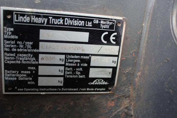 Linde S 60 , Seitenstapler - 2005 - image 9