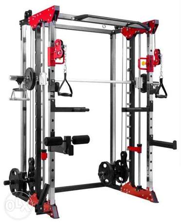 Smith Machine + Cable Trainer