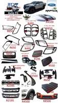 Bakkie Accessories 2012+ Ford, Toyota, Isuzu, Mazda