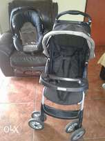 Graco pram and car seat