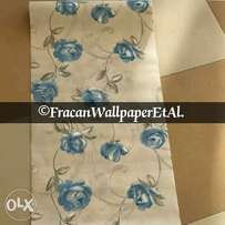Floral pattern wallpapers. New stock