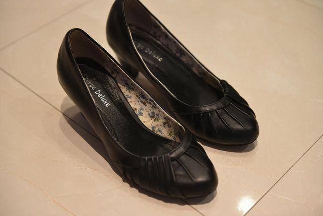 901f1ae1 Angielskie buty damskie rozmiar 38 -Scarpe Deluxe- UNIKAT !!! Brwinów -  image