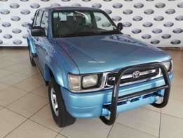 2001 Toyota Hilux 2700i Raider Raised Body Double Cab,