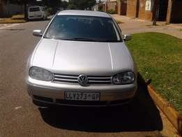 2002 Golf 4 1,9 TDI RED leather seats Colour Silver