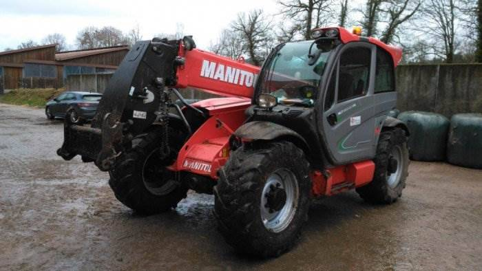 Manitou Mlt 840-137 Ps Elite - 2013