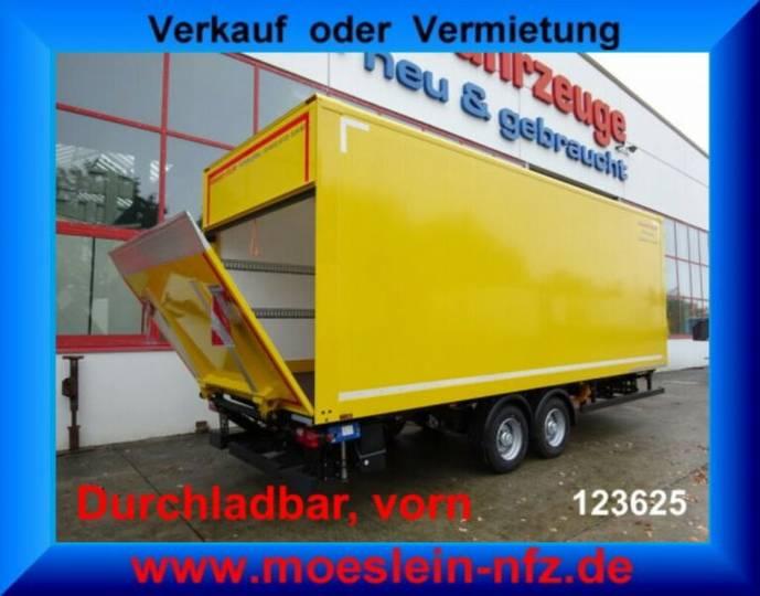 Möslein TK0105D-L Gelb Tandemkoffer, Ladebordwand 1,5t, - 2019