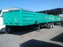 Super-link Drop Side Trailer For Sale