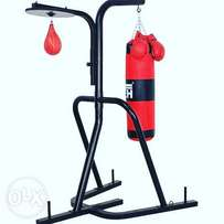 American fitness boxing bag with stand