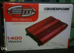 Boschmann 1400w class D, amplifier, Free delivery within Nairobi cbd.