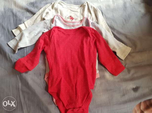 Slightly used Mother care baby clothes 3pcs